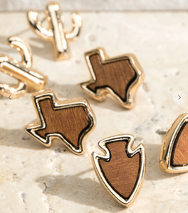 3 piece Texas Wood Stud set
