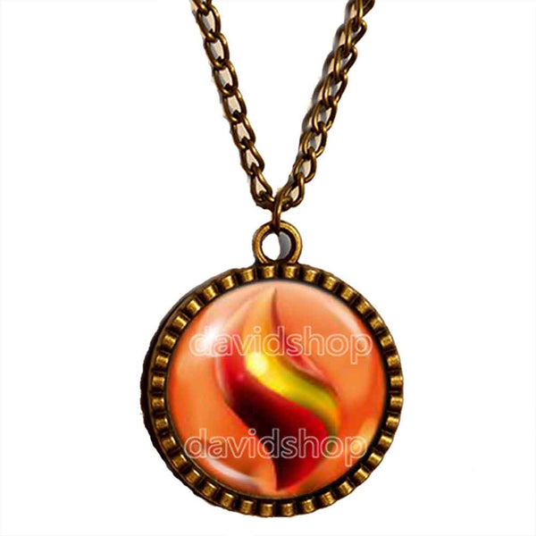 Pokemon Charizardite Y Mega Stone Necklace Anime Pendant Fashion Jewelry Charizard Cosplay - DDavid'SHOP