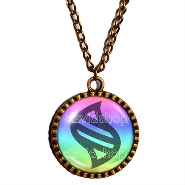 Pokemon Keystone Mega Stone Necklace Anime Pendant Fashion Jewelry Cosplay Cute Charm