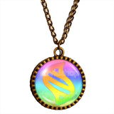 Pokemon Mega Stone Necklace Colorful Anime Pendant Fashion Jewelry Cosplay Cute