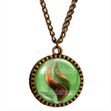 Pokemon Sceptilite Mega Stone Necklace Anime Pendant Jewelry Sceptile Cosplay Charm
