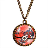 Pokemon Y Yveltal Legendary Pendant Necklace Anime EX Pokeball Jewelry Cosplay Cute Gift - DDavid'SHOP
