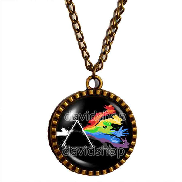 Pokemon Eevee Evolution Necklace Eeveelution Anime Pendant Jewelry Cosplay Cute Gift - DDavid'SHOP