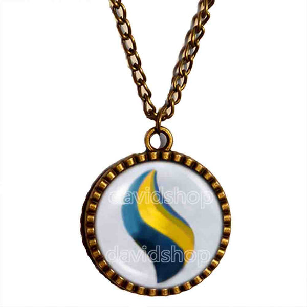 Pokemon Sharpedonite Mega Stone Necklace Anime Pendant Jewelry Sharpedo Cosplay