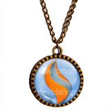Pokemon Swampertite Mega Stone Necklace Anime Pendant Jewelry Swampert Cosplay - DDavid'SHOP