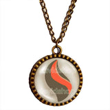 Pokemon Cameruptite Mega Stone Necklace Anime Pendant Jewelry Camerupt Cosplay - DDavid'SHOP
