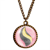 Pokemon Mawilite Mega Stone Necklace Anime Pendant Jewelry Mawile Cosplay