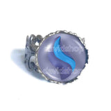 Pokemon Latiosite Mega Stone Ring Anime Jewelry Latios Cosplay Charm
