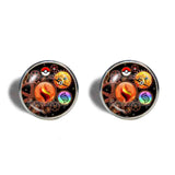 Pokemon Charizard Y Pokeball Cufflinks Cuff links Fashion Jewelry Charizardite Y Mega Stone Cosplay Gear Steampunk Keystone - DDavid'SHOP