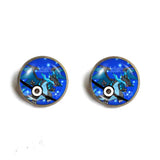 Cosplay Pokemon Charizard Pokeball Ear Cuff Earring Charizardite X Mega Stone Fashion Jewelry
