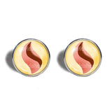Lopunnite Mega Stone Cufflinks Cuff links Fashion Jewelry Lopunny Cosplay Charm