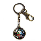 Magic the Gathering Keychain Fashion Mana Jewelry Cosplay MTG Natural Elements Cute Keyring Car Sign