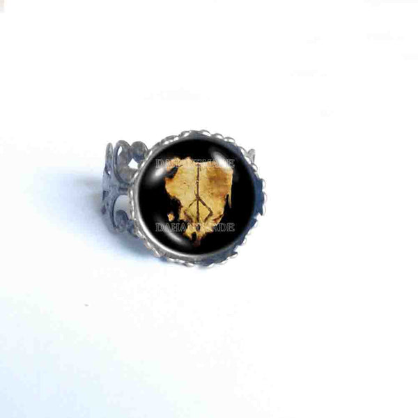 Bloodborne Hunters Mark Ring Hunter's Cosplay Jewelry Cute Gift Charm Sign