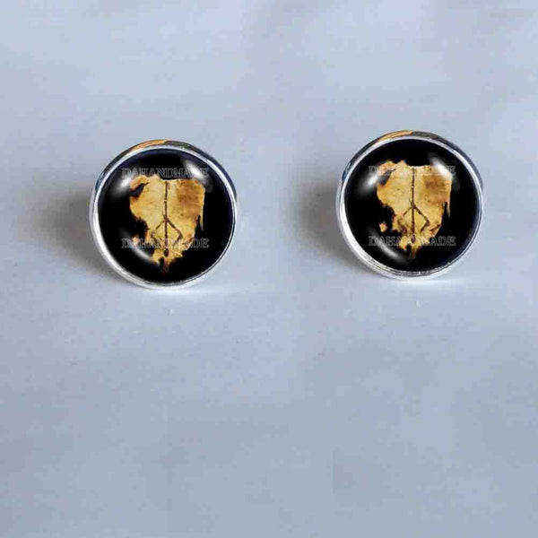 Bloodborne Hunters Mark Cufflinks Cuff links Hunter's Cosplay Cute Gift Charm Sign
