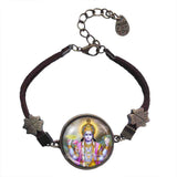 Hindu God Vishnu Bracelet Symbol Art Fashion Jewelry Gift Cosplay Charm Sign
