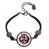 Red Rose BDSM Bracelet Fashion Jewelry Chain Cosplay Sign