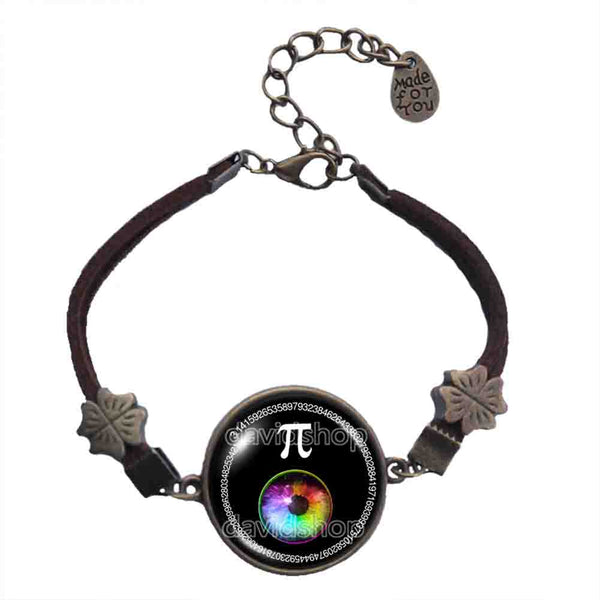 Pi Day Math Pi Bracelet Fashion Jewelry Cosplay Colorful Eyes Sign