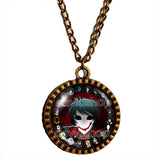 Creepypasta Bloody Painter CREEPY PASTA TICCI TOBY Necklace Pendant JEFF THE KILLER Cosplay Fashion Jewelry Sign