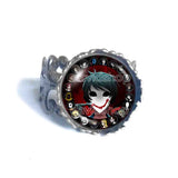 Creepypasta Bloody Painter CREEPY PASTA TICCI TOBY Ring JEFF THE KILLER Cosplay Fashion Jewelry Sign