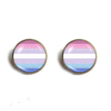 Bigender Pride Ear Cuff Earring Fashion Jewelry Cosplay