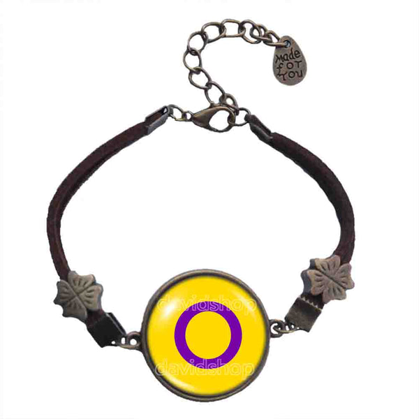 Intersex Pride Bracelet Flag Fashion Jewelry Cosplay