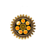 Turtle World King Descendant Martial Artist logo Goku Symbol Dragon Ball Z Star Brooch Badge Pin Fashion Jewelry Cosplay