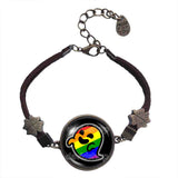 Gaysper Bracelet Gay Pride Rainbow Flag Fashion Jewelry Cute LGBT LGBTQ Cute Sign