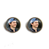 Tom Holland Ear Cuff Earring Photo Art Glass Fashion Jewelry Cosplay Love