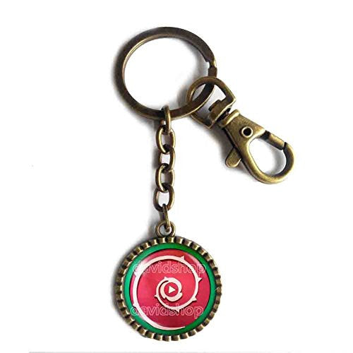 Steven Universe Shield Keychain Keyring Car Cosplay Cute Gift