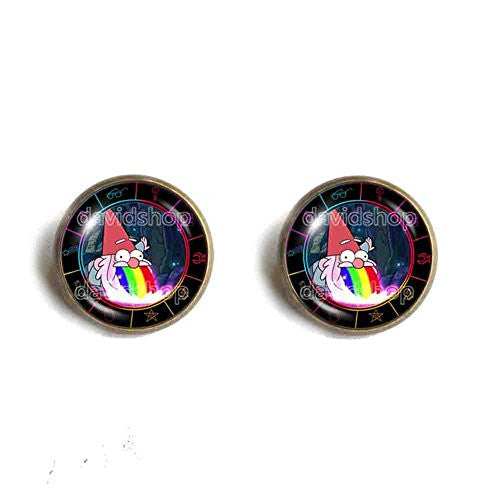 Gravity Falls Rainbow Gnome Ear Cuff Earring Jewelry Steve Cosplay