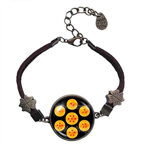 Dragon Ball Z Star Bracelet 1 2 3 4 5 6 7 Symbol Pendant Fashion Jewelry Cosplay