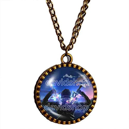 SAO Sword Art Online Necklace Symbol Anime Pendant Fashion Jewelry Cosplay Cute - DDavid'SHOP
