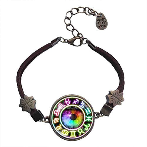Colorful Eyes Homestuck Bracelet God Mandala Constellation