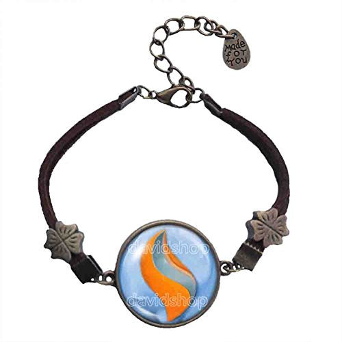 Pokemon Swampertite Mega Stone Bracelet Symbol Pendant Jewelry Swampert Cosplay