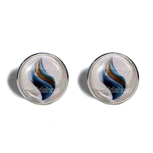 Pokemon Blastoisinite Mega Stone Cufflinks Cuff links Fashion Jewelry Blastoise Cosplay Charm