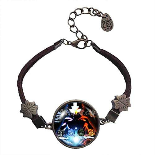 Avatar the last Airbender Bracelet Fire Elements Water Tribe Earth Kingdom Air Nomads