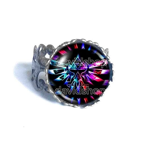 The Legend Of Zelda Ring Anime Fashion Jewelry Cosplay Constellation Multicolor Cute