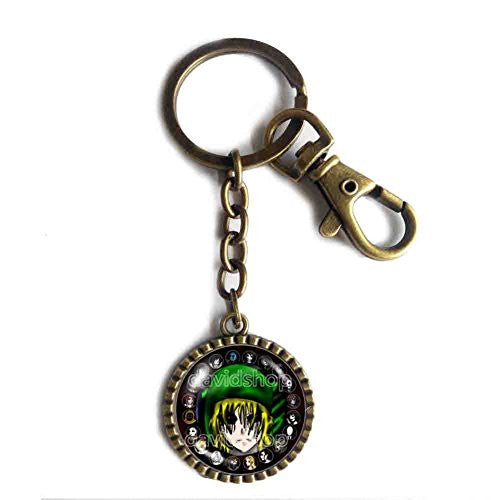 Creepypasta TICCI TOBY Key Chain Keyring JEFF THE KILLER Fictional Ben