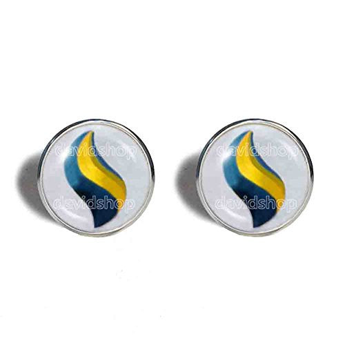 Pokemon Sharpedonite Mega Stone Cufflinks Cuff links Fashion Jewelry Sharpedo Cosplay Charm