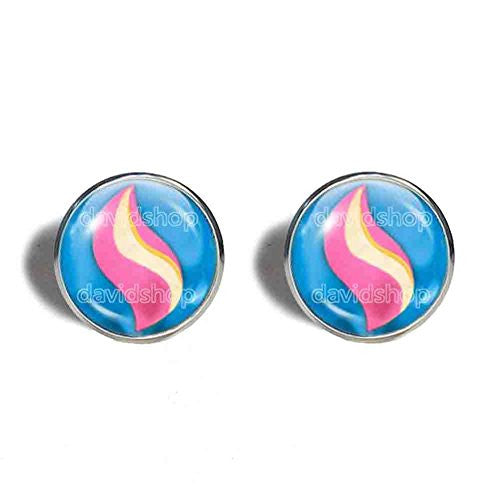 Pokemon Medichamite Mega Stone Cufflinks Cuff links Fashion Jewelry Medicham Cosplay Charm