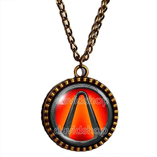 Borderlands Vault Symbol Necklace Pendant Fashion Jewelry Cosplay Charm Gift - DDavid'SHOP