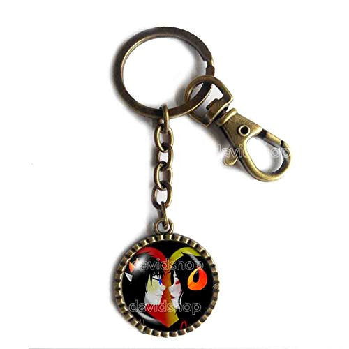 Homestuck Keychain Cute Keyring Car Fashion Key Ring God Mandala Sollux Aradia