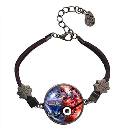 Pokemon XY Legendary Bracelet Xerneas Yveltal Pendant Anime EX Pokeball Jewelry X Y Cosplay Cute Gift - DDavid'SHOP