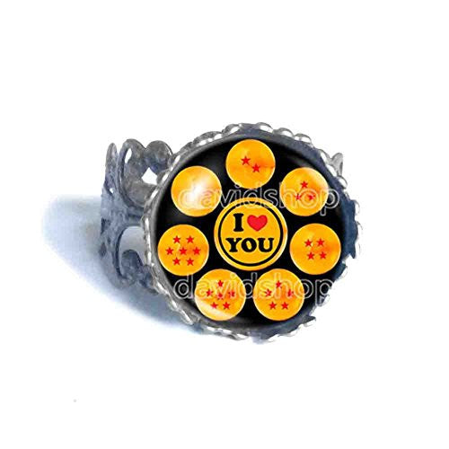 Dragon Ball Z Ring I Love You