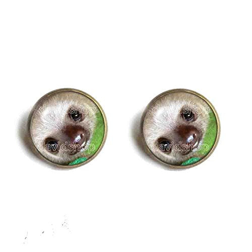 Baby Sloth Ear Cuff Earring Symbol Sign Fashion Jewelry Cute Gift Animal Pet Cosplay