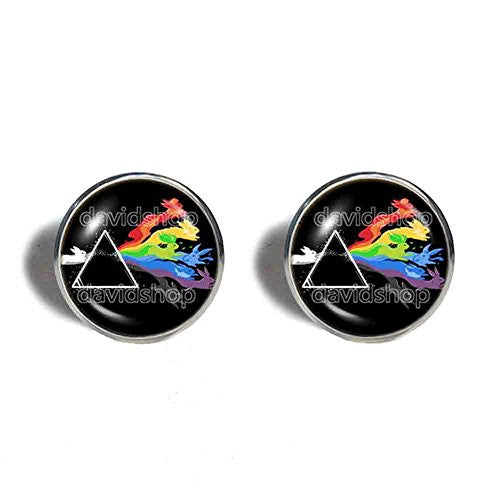Pokemon Eevee Evolution Cufflinks Cuff links Symbol Eeveelution Anime Jewelry Cosplay Cute Gift - DDavid'SHOP