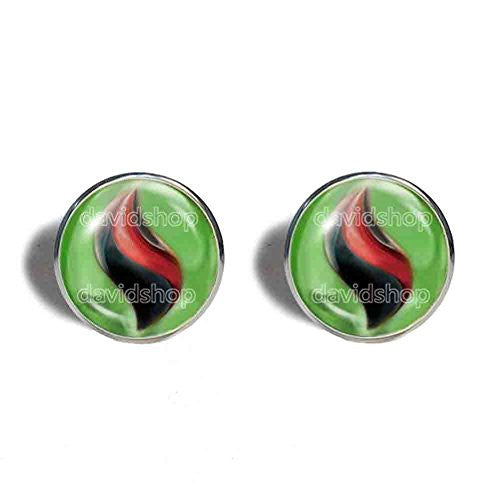 Pokemon Tyranitarite Mega Stone Cufflinks Cuff links Fashion Jewelry Tyranitar Cosplay Charm - DDavid'SHOP