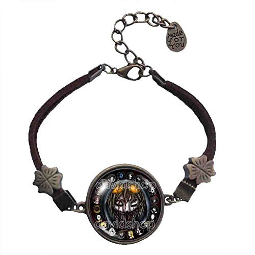 Creepypasta CREEPY PASTA TICCI TOBY Bracelet Jewelry Cosplay Men - DDavid'SHOP