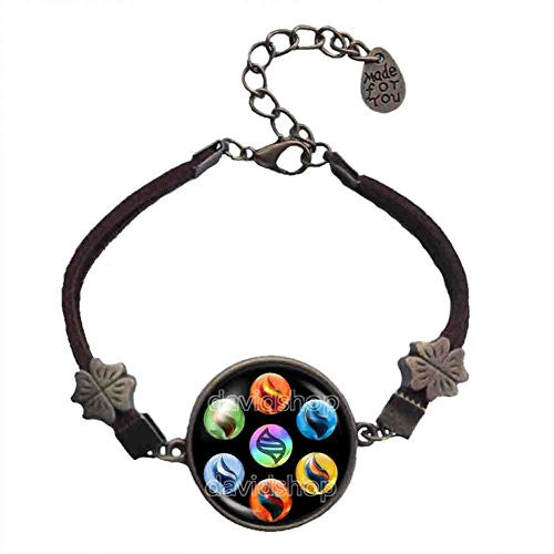 Pokemon Keystone Mega Stone Bracelet Lucarionite Heracronite Cosplay