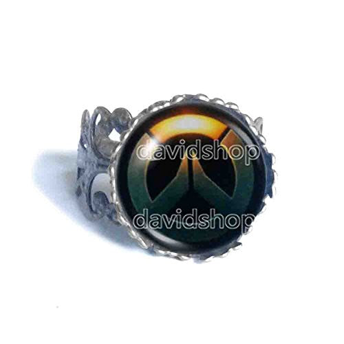 Overwatch Ring Fashion Jewelry Symbol Cosplay Charm Cute Gift
